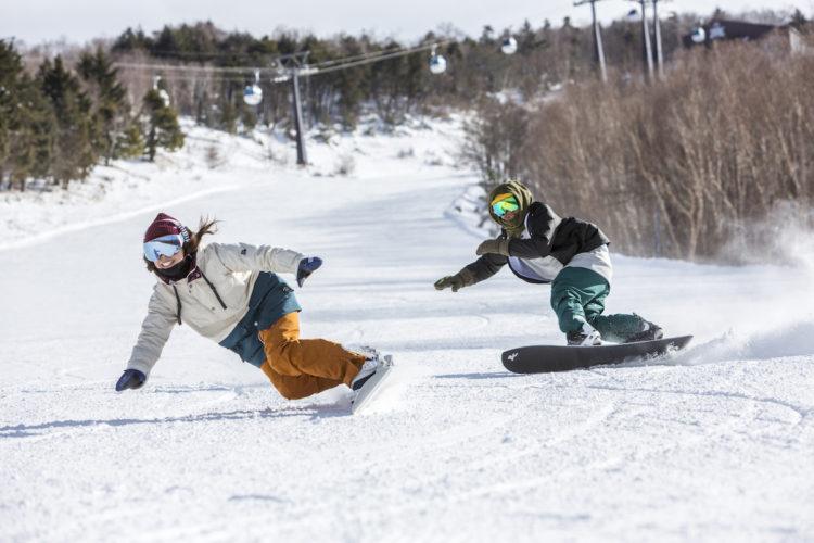 スキーヤー限定、スノーボーダー限定と分けて開催