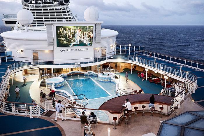 ダイヤモンド・プリンセス船内で様々なイベントが開催